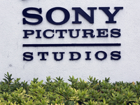 Sony Pictures Studios headquarters building is seen in Culver City, Calif., on Friday. President Obama has criticized Sony for cancelling distribution of The Interview following after the studio was hacked by North Korea.