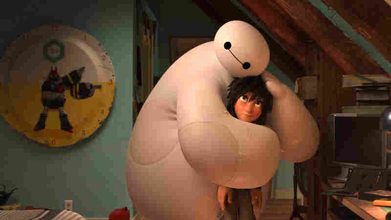 Baymax the robot nurse becomes Hiro's fierce defender in the hit movie Big Hero 6.
