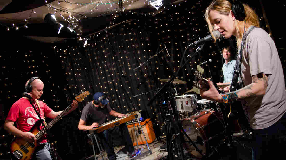 Cincinnati indie rockers Wussy were the featured musicians in KEXP's favorite studio session of the year.