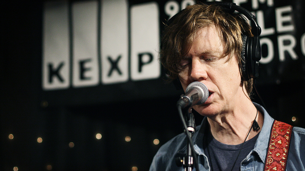 Thurston Moore performs live on KEXP. (KEXP)