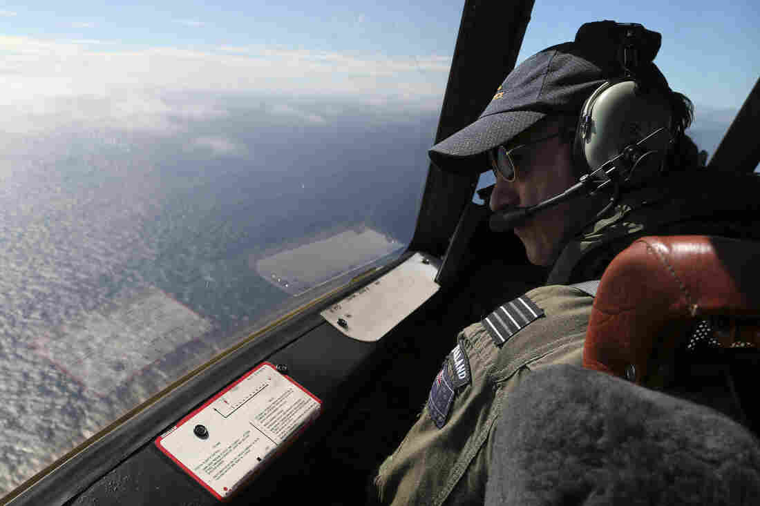 In late March, search aircraft crisscrossed the Indian Ocean looking for wreckage. But no sign of the missing aircraft was ever found.