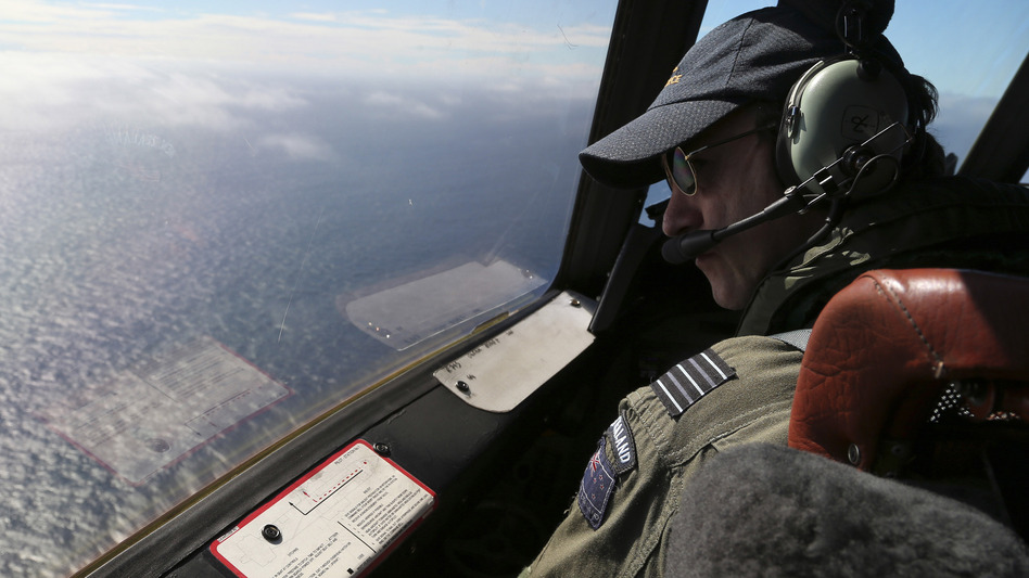 In late March, search aircraft crisscrossed the Indian Ocean looking for wreckage. But no sign of the missing aircraft was ever found. (Getty Images)