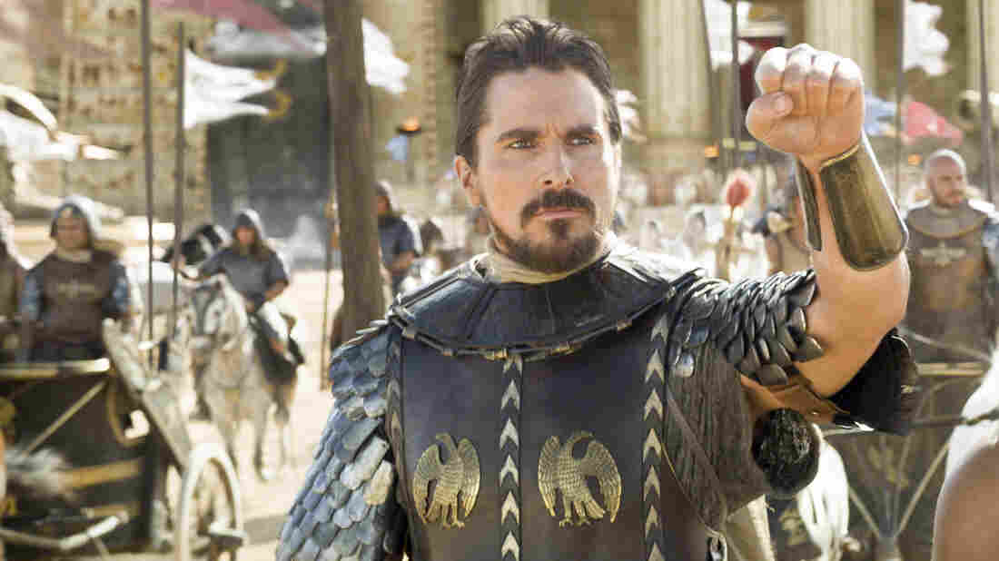 In Exodus, Christian Bale's Moses is more of an action hero than a religious figure.