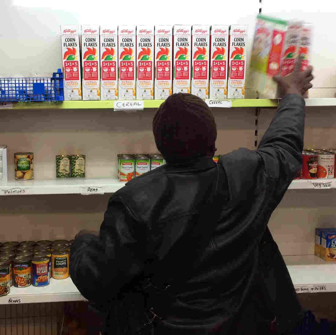 Record Number Of Britons Are Using Food Banks