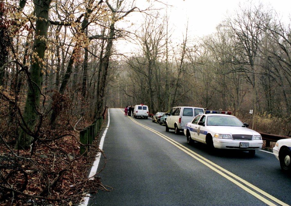 The Serial podcast is Sarah Koenig's reinvestigation of the murder of Hae Min Lee, a Maryland high school student who was strangled in 1999. Lee was found in Baltimore's Leakin Park. Her schoolmate and ex-boyfriend Adnan Syed was convicted of the murder and is serving a life sentence. (Courtesy of Serial)