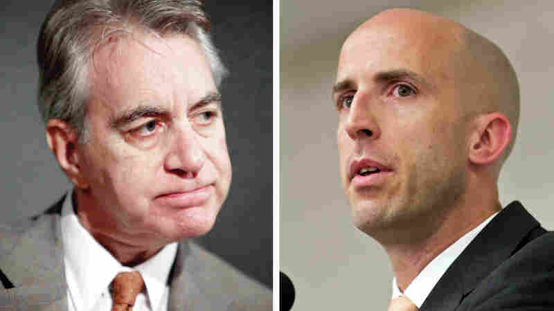 Kevin Counihan (left) runs HealthCare.gov, and Michael Cannon, of the Cato Institute, is a prominent critic of Obamacare.