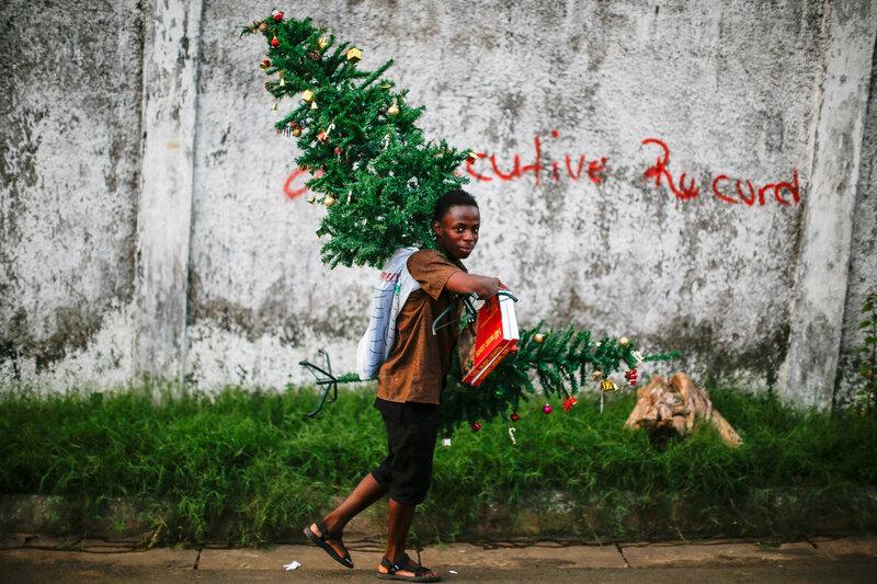 Liberia; Ebola can't stop Christmas