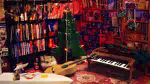 HMSTR performs the teeniest holiday Tiny Desk Concert.