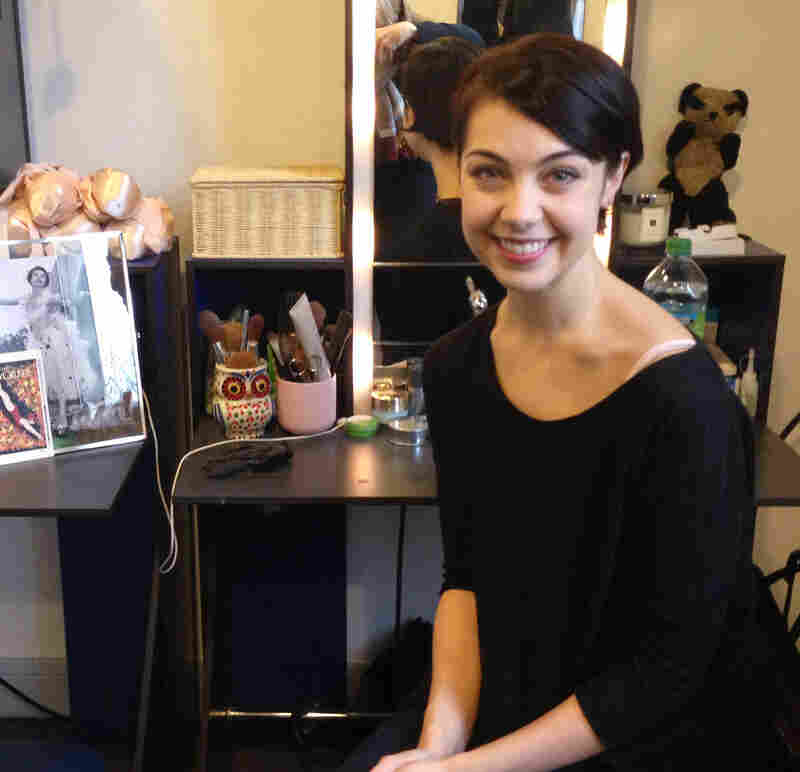 Leanne Cope, a dancer with the Royal Ballet in London, says being in Paris has helped her incarnate Lise, the young French dancer who works in a perfume shop and is loved by two men.