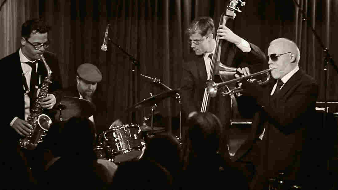 Trumpeter John McNeil rejoins Hush Point, a group of friends from New York's jazz scene, on the new album Blues and Reds. Left to right: Jeremy Udden, Anthony Pinciotti, Aryeh Kobrinsky, John McNeil.