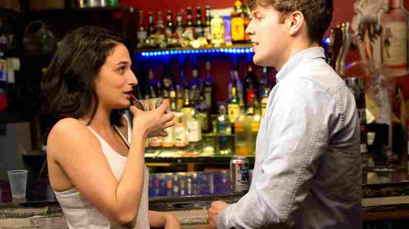 Jenny Slate and Jake Lacy in Obvious Child.