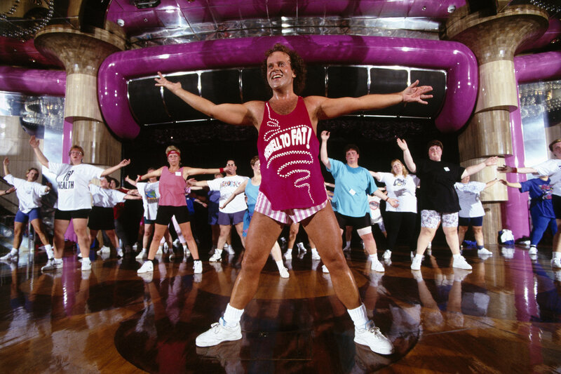 Richard Simmons 80s Gif