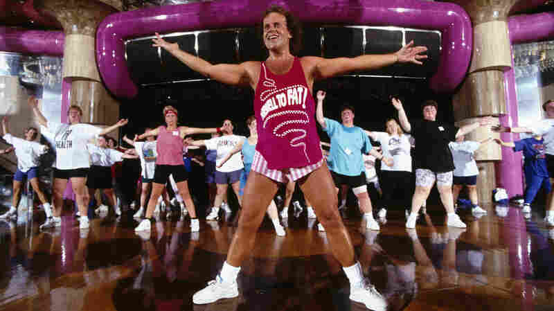 Richard Simmons was the hottest thing in exercise programs back in 1996. The garb may have changed, but fads are still fickle.