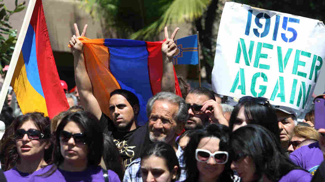 Earlier this year, protesters in Los Angeles called for recognition of, and reparations for, the 1915 Armenian genocide executed by Ottoman Turks.