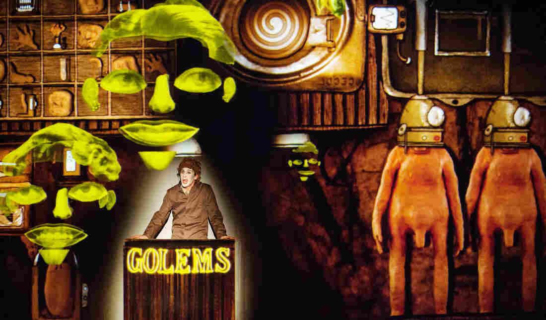 1927's latest play, Golem, is a parable about technology taking over modern lives.