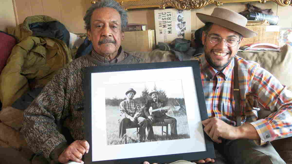 For 20 years, the Music Maker Relief Foundation has been supporting indigent musicians like Boo Hanks (left), who recently released a collaborative album with fellow roots musician Dom Flemons.