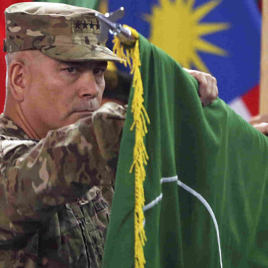 Ceremony In Afghanistan Officially Ends America's Longest War