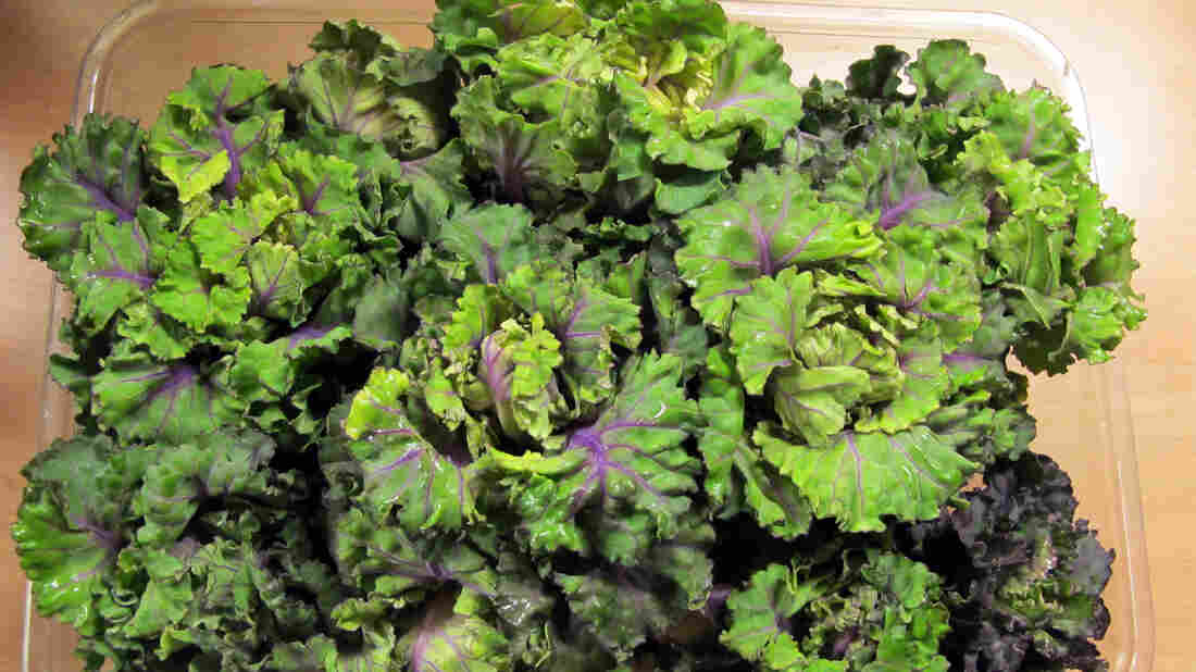 Kale and Brussels sprouts got together and conceived a new vegetable, kalette. Look for it on menus in 2015.