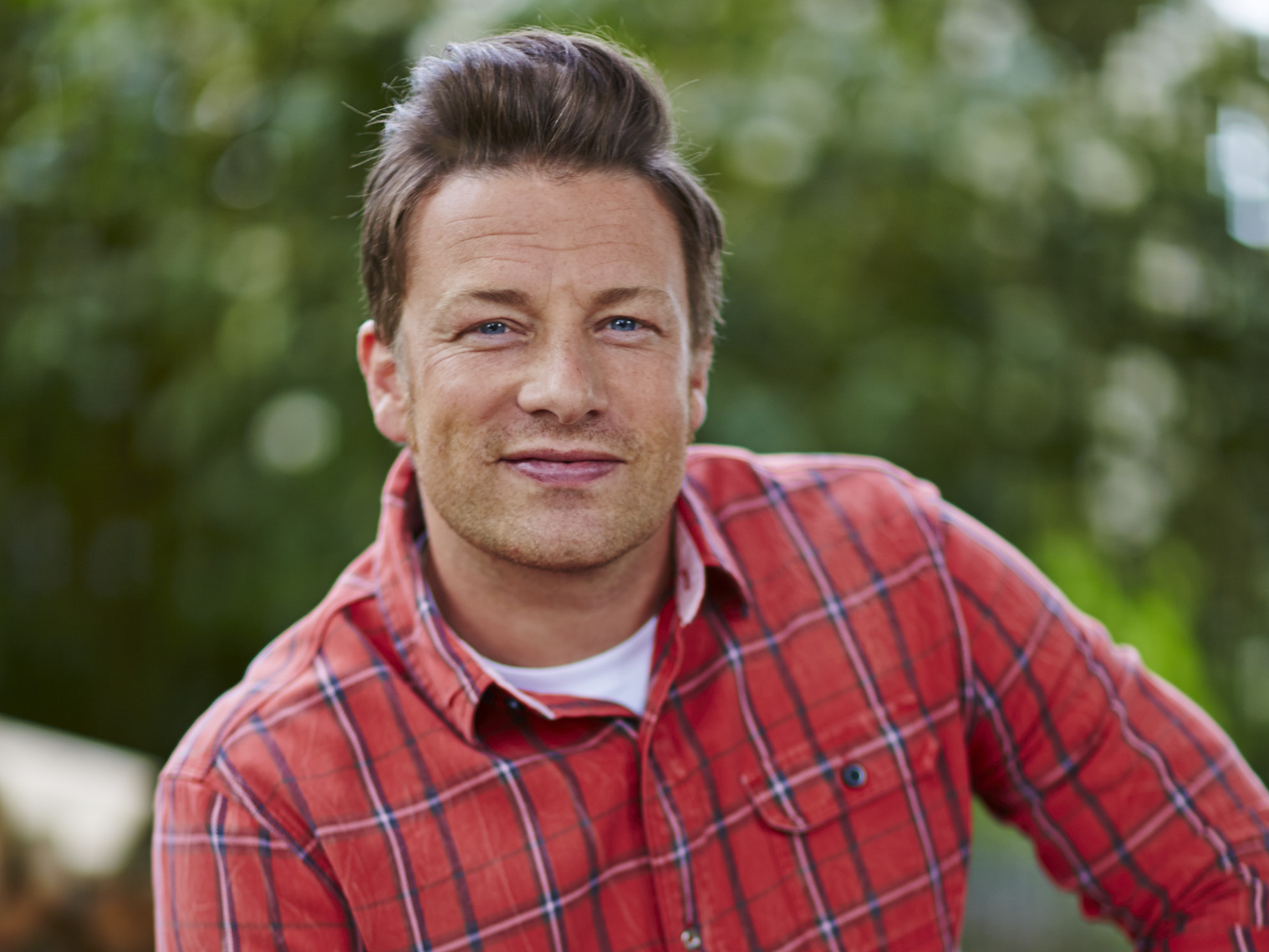 Jamie Oliver, Up To His Elbows In Mashed Potatoes With ...