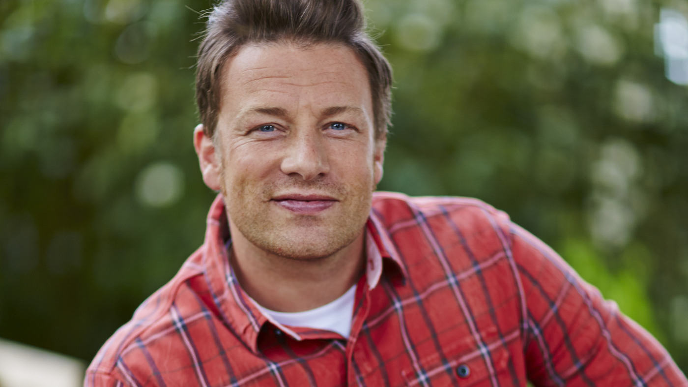 Jamie Oliver Up To His Elbows In Mashed Potatoes With