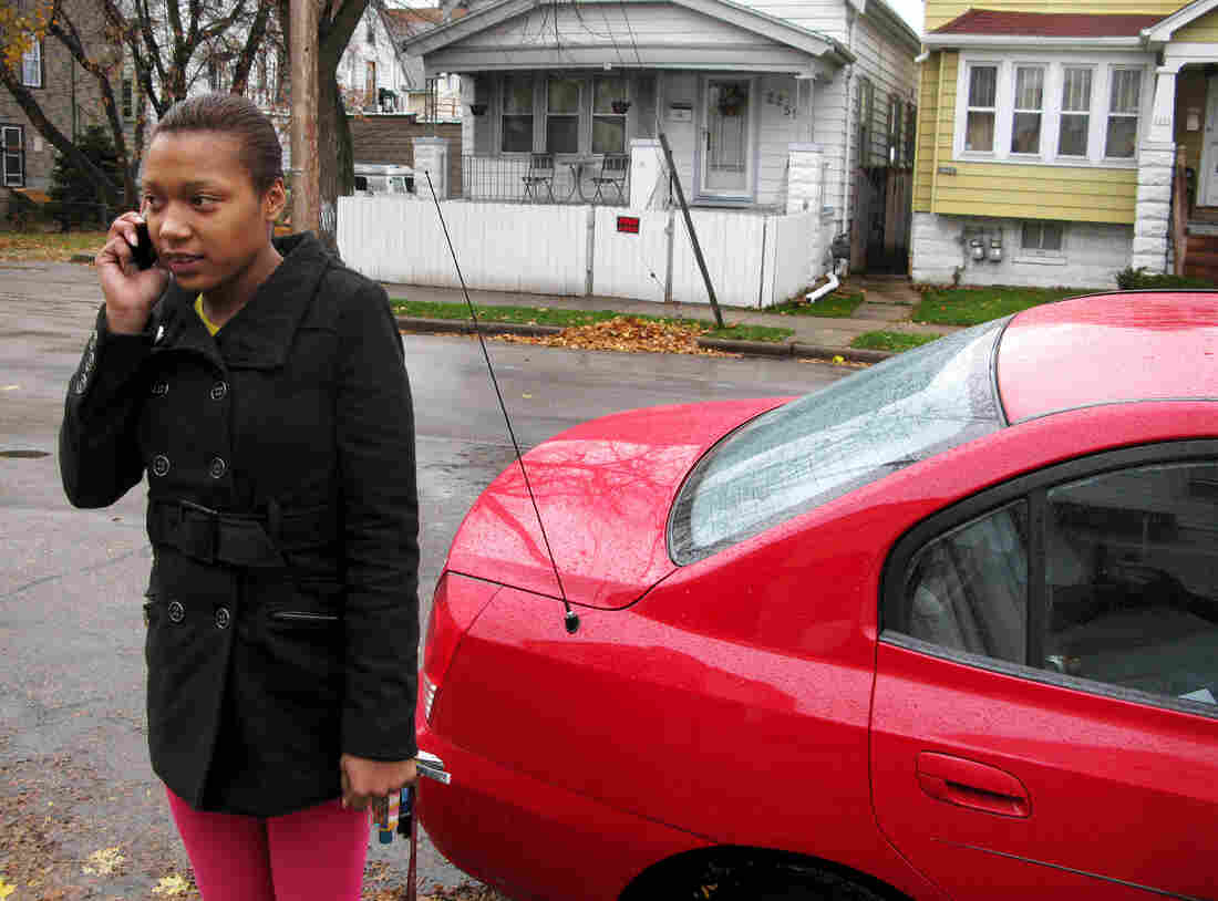 Desiree Seats, 23, lost her license for two years before she even got it because of an unpaid fine. Without a license, she couldn't find the jobs she needed to start earning money.
