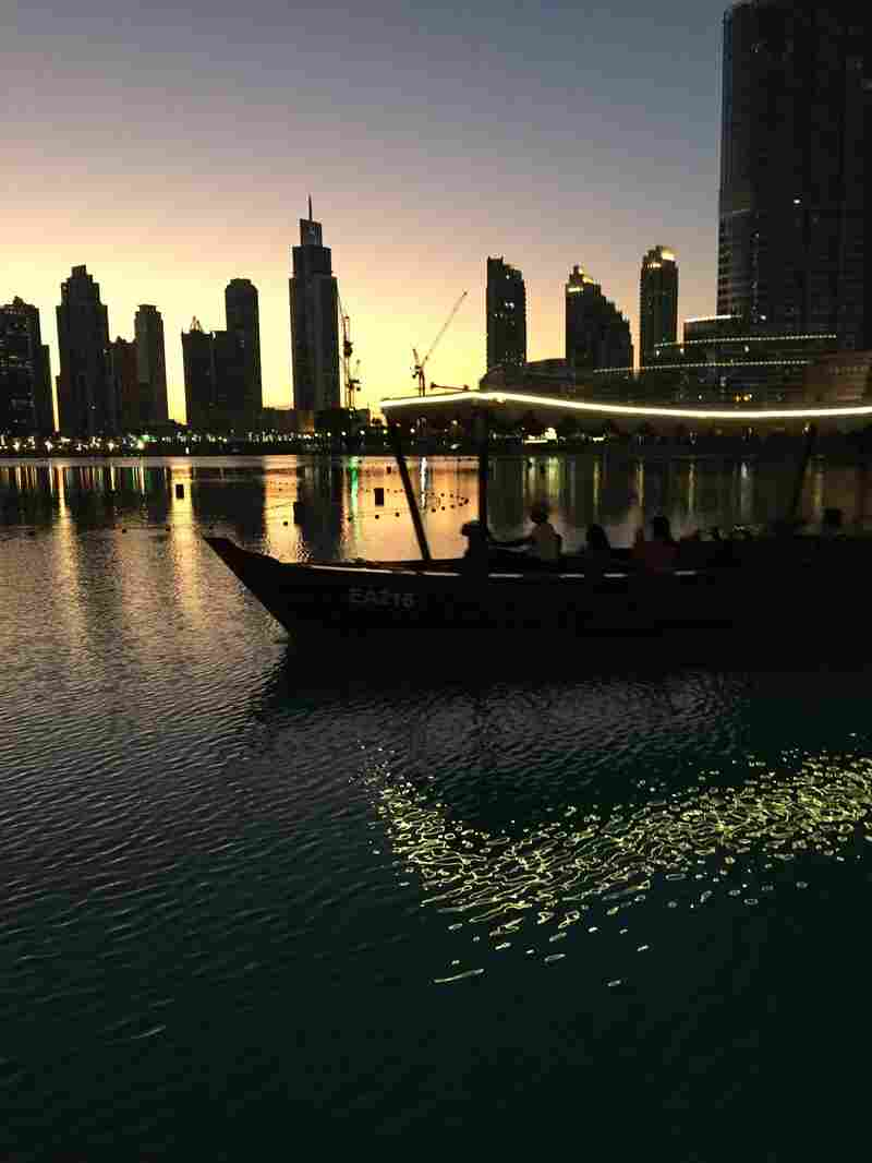 The Emirati city of Dubai boasts an international population and is a major shopping center.