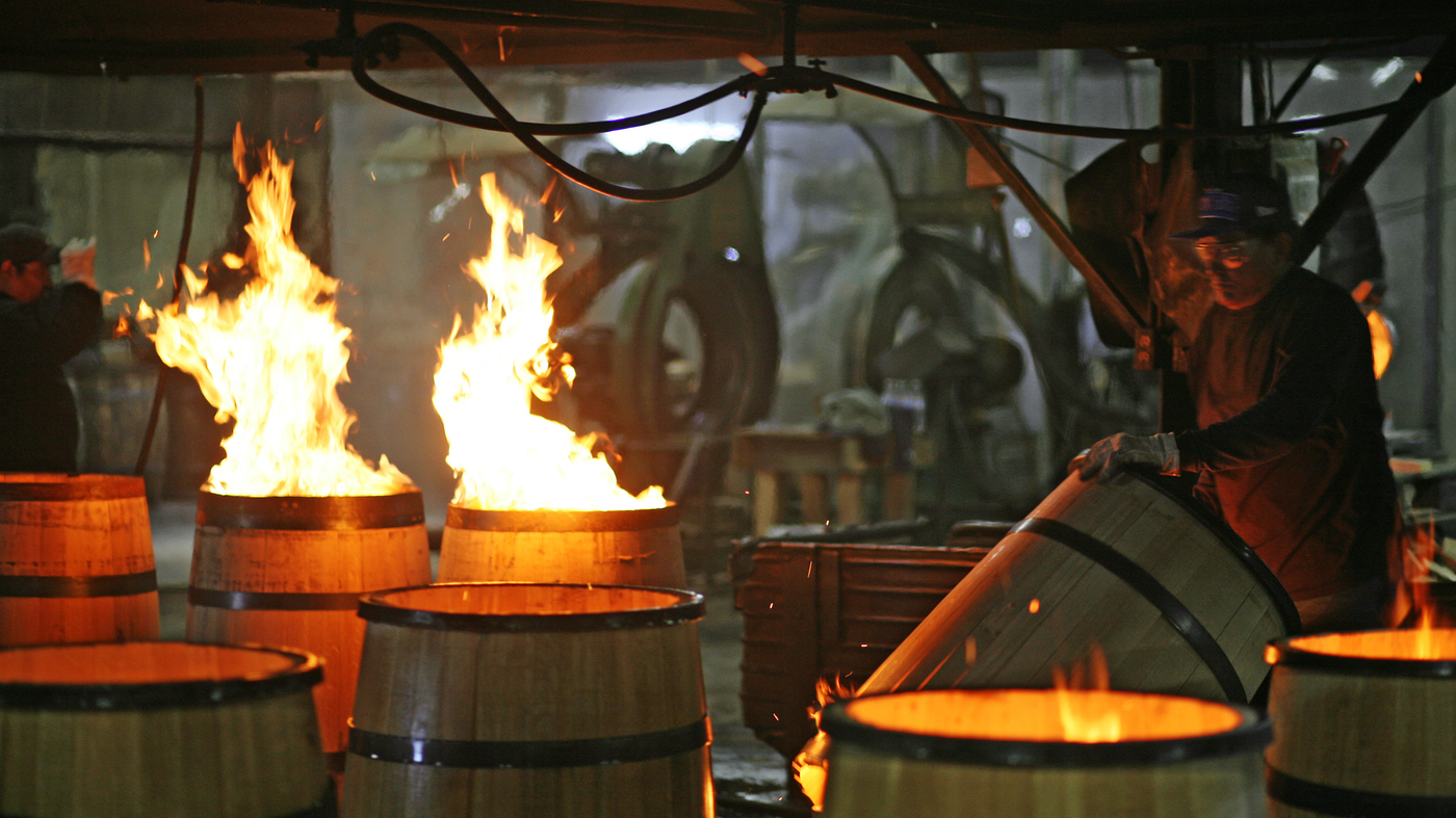 As Bourbon Booms Demand For Barrels Is Overflowing The Salt Npr