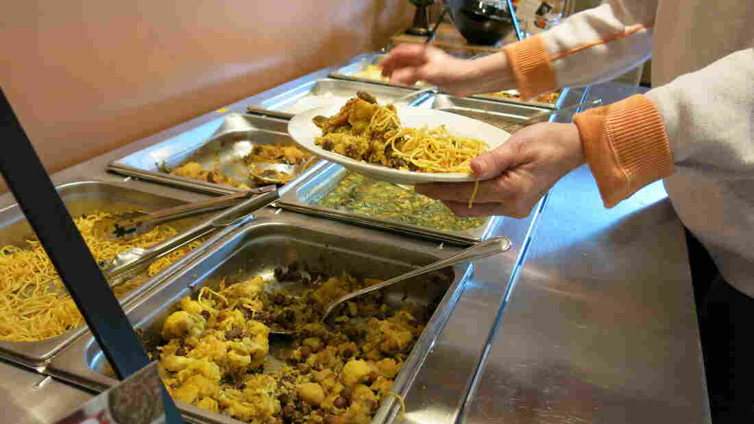 The lunch buffet at Upohar in Lancaster, Pa., includes a mix of cuisines from South Asia, Africa and the Middle East.