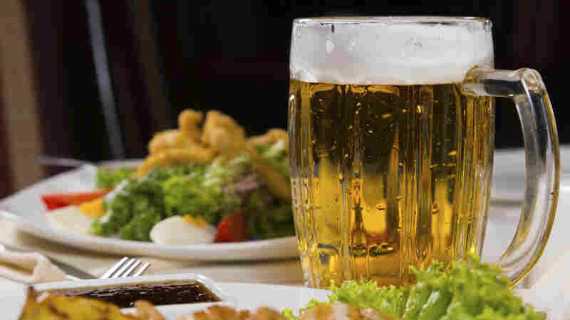"""Scientists say beer has more nutrients and vitamins than wine or spirits. """"There's a reason people call it liquid bread,"""" says researcher Charlie Bamforth."""