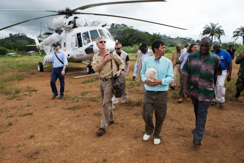 U.N.'s Anthony Banbury: Zero Cases Of Ebola Is The Only Option