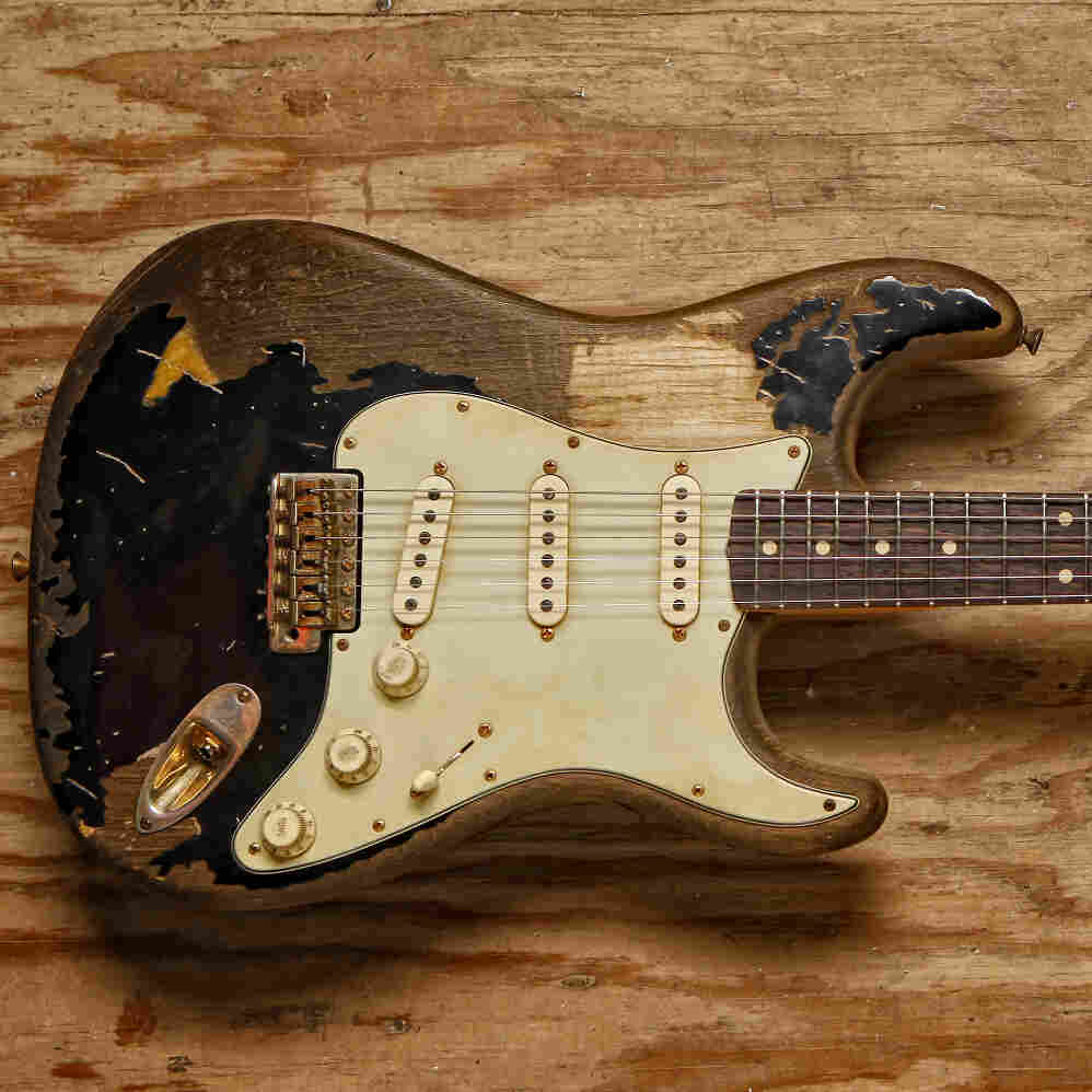 Across six decades, the combination of innovative design and talented players has helped the Stratocaster not only persevere, but rule. John Mayer had the Fender Custom Shop design this one in 2009.