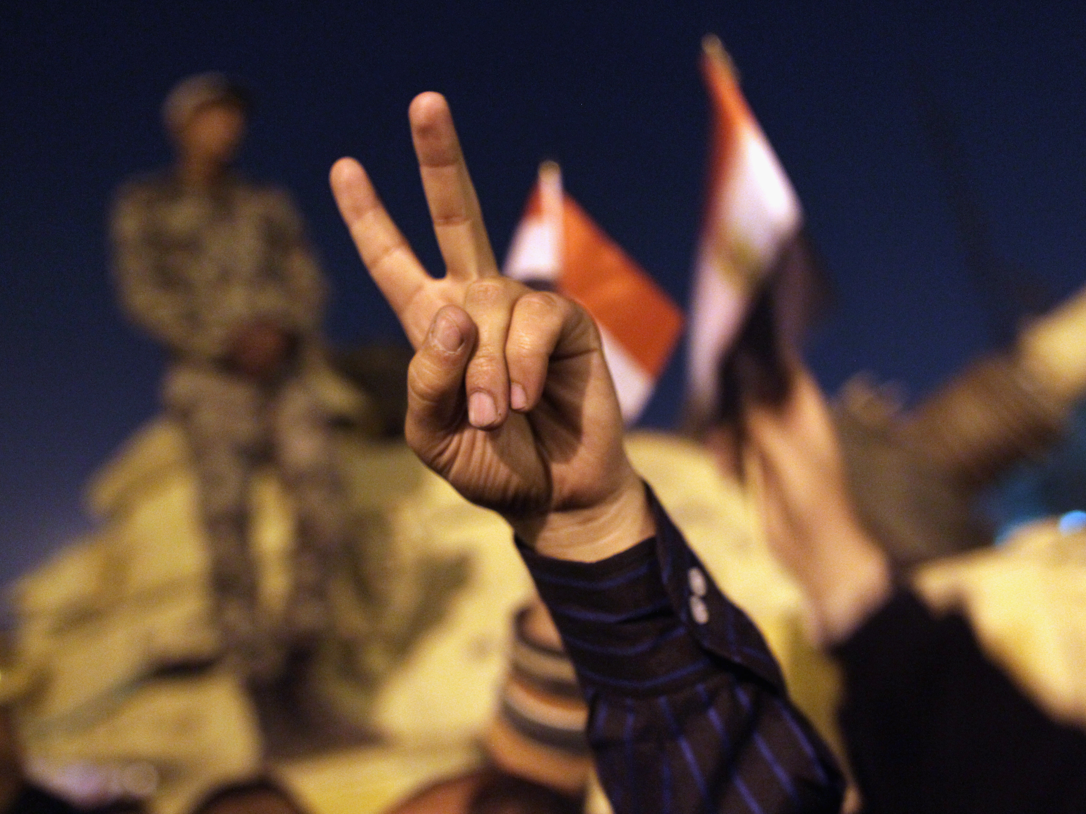 Egypt's Citizens Still Wait 'To Breathe Deep The Air Of Freedom'