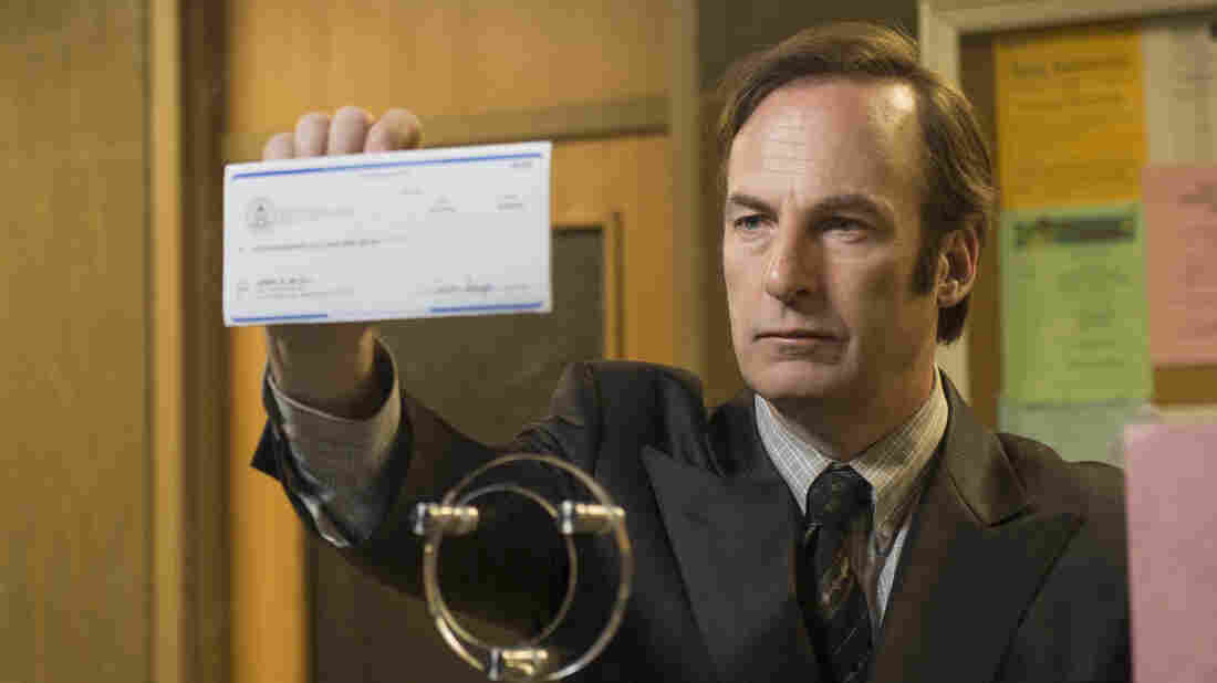 Bob Odenkirk as Saul Goodman in AMC's Breaking Bad spinoff Better Call Saul.