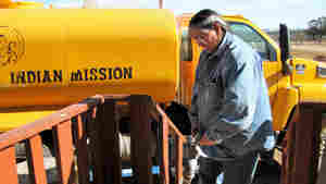 For Many Navajo, A Visit From The 'Water Lady' Is A Refreshing Sight