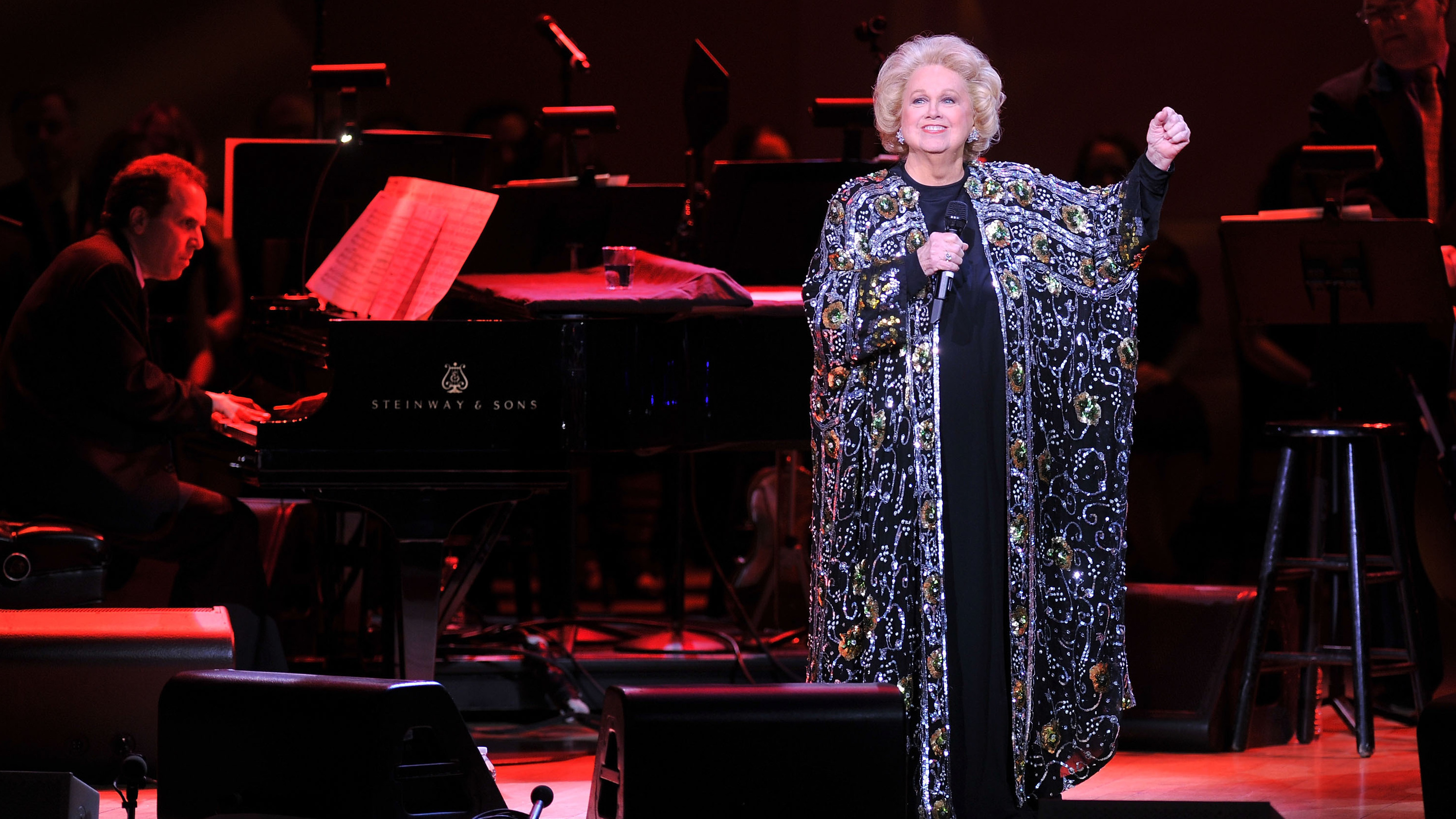 Broadway legend Barbara Cook dies aged 89
