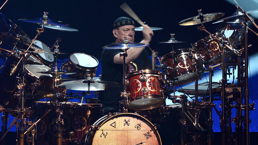 Mystic Rhythms Rushs Neil Peart On The First Rock Drummer