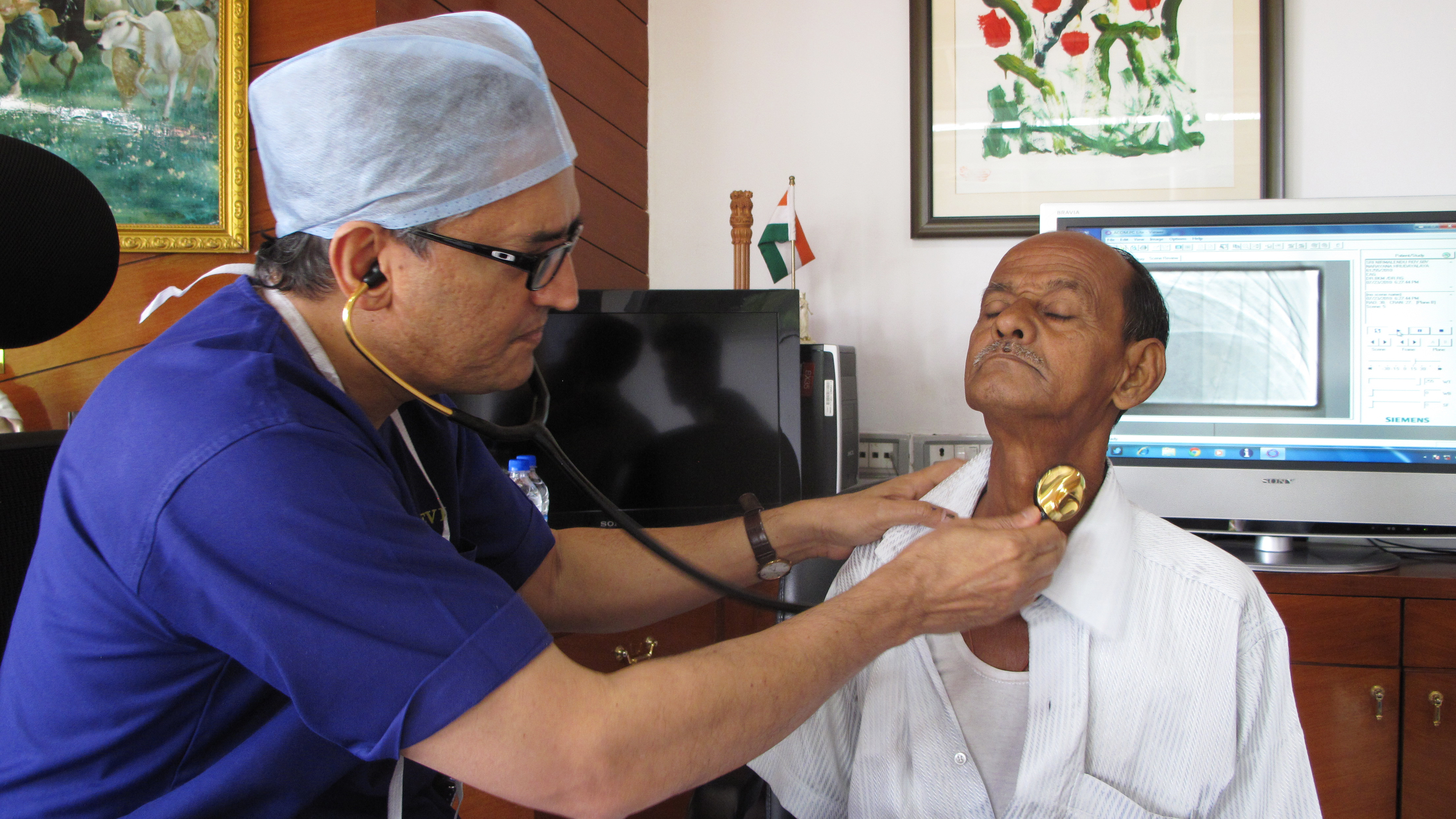 India S Philanthropist Surgeon Delivers Cardiac Care Henry Ford Style Goats And Soda Npr