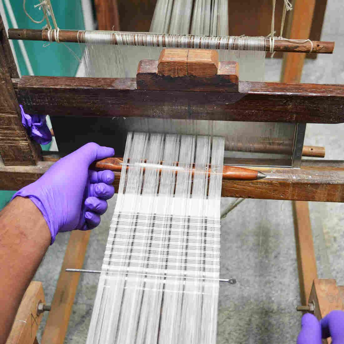 Weavers Turn Silk Into Diabetes Test Strips