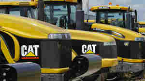 If the dollar gets too expensive, U.S. exports like heavy equipment made by Caterpillar can get priced out of the market.