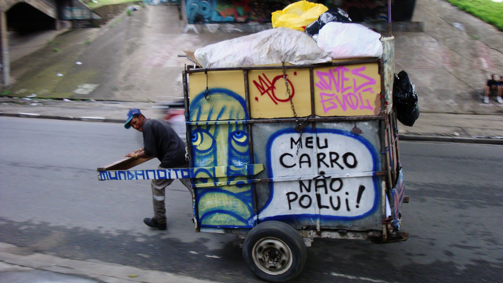 MTV Pimps Cars, Brazil Pimps Trash Carts : Goats and Soda : NPR