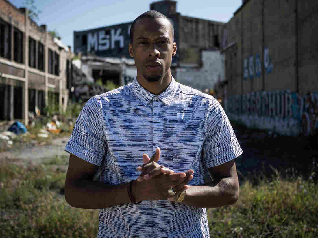 Black Milk in his hometown, Detroit.