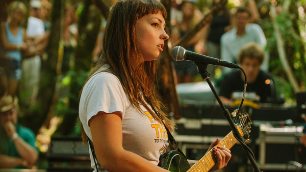 Angel Olsen performs at the 2014 Pickathon Woods Stage. (opbmusic)