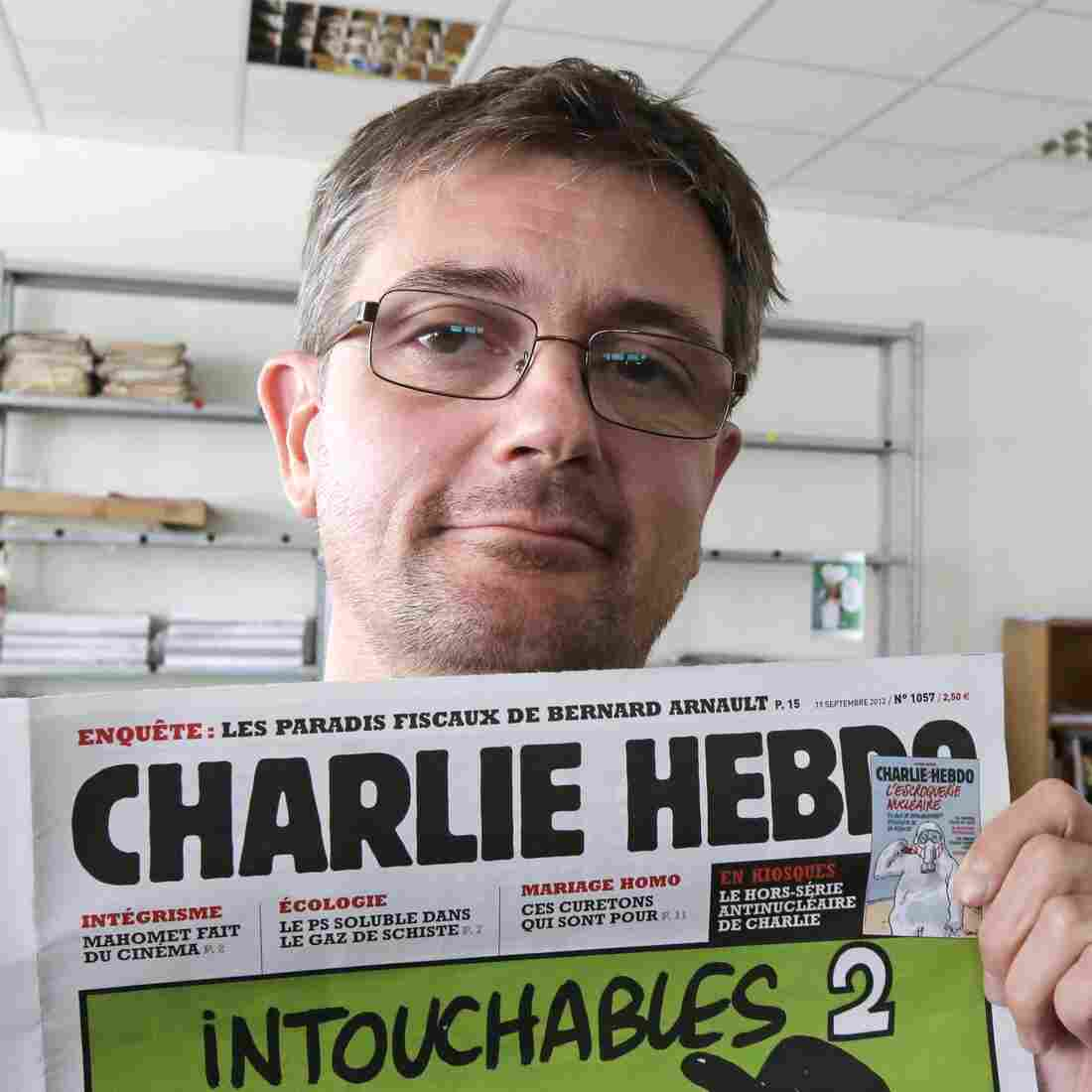 'Charlie Hebdo,' A Magazine Of Satire, Mocks Politics, Religion