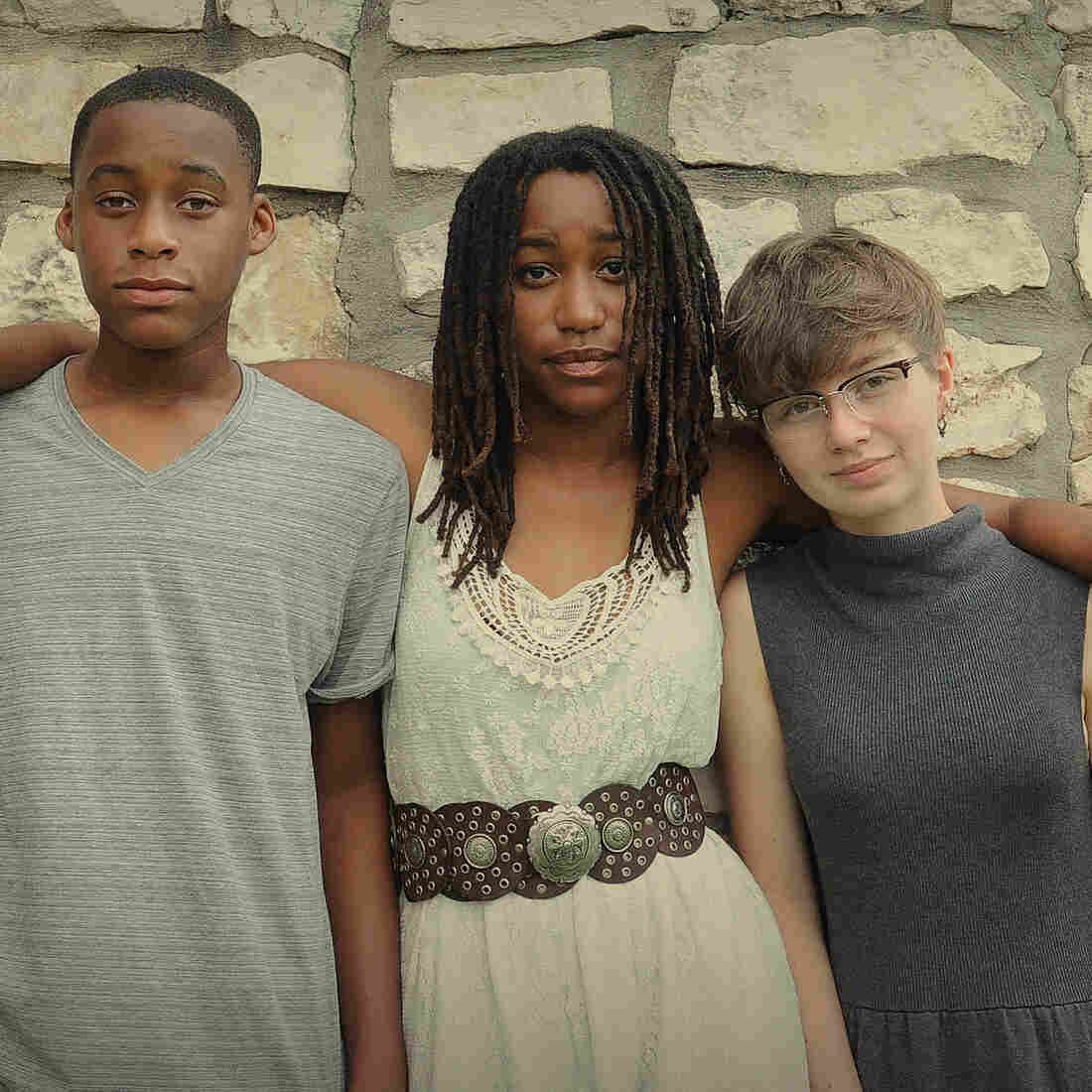 Austin-based Charlie Belle, led by 16-year-old Jendayi Bonds (center) along with her brother Gyasi Bonds (left) and Zoe Czarnecki, will release a debut EP on Jan. 13.