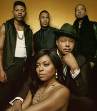 The stars of Fox's new drama Empire (clockwise from left): Bryshere Gray, Trai Byers, Jussie Smollett, Terrence Howard and Taraji P. Henson.
