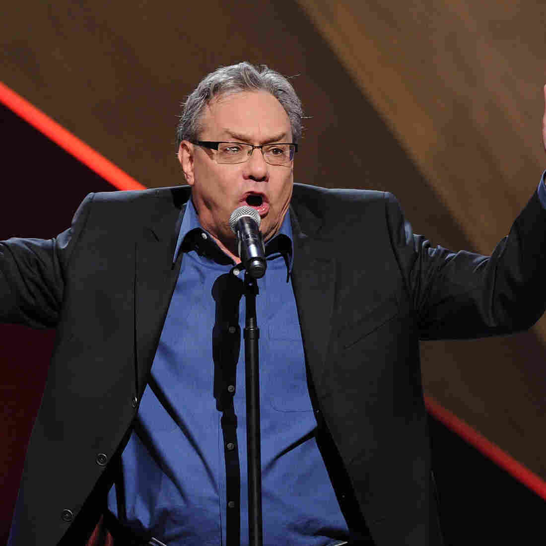 This week's Very Important Puzzler is comedian Lewis Black.