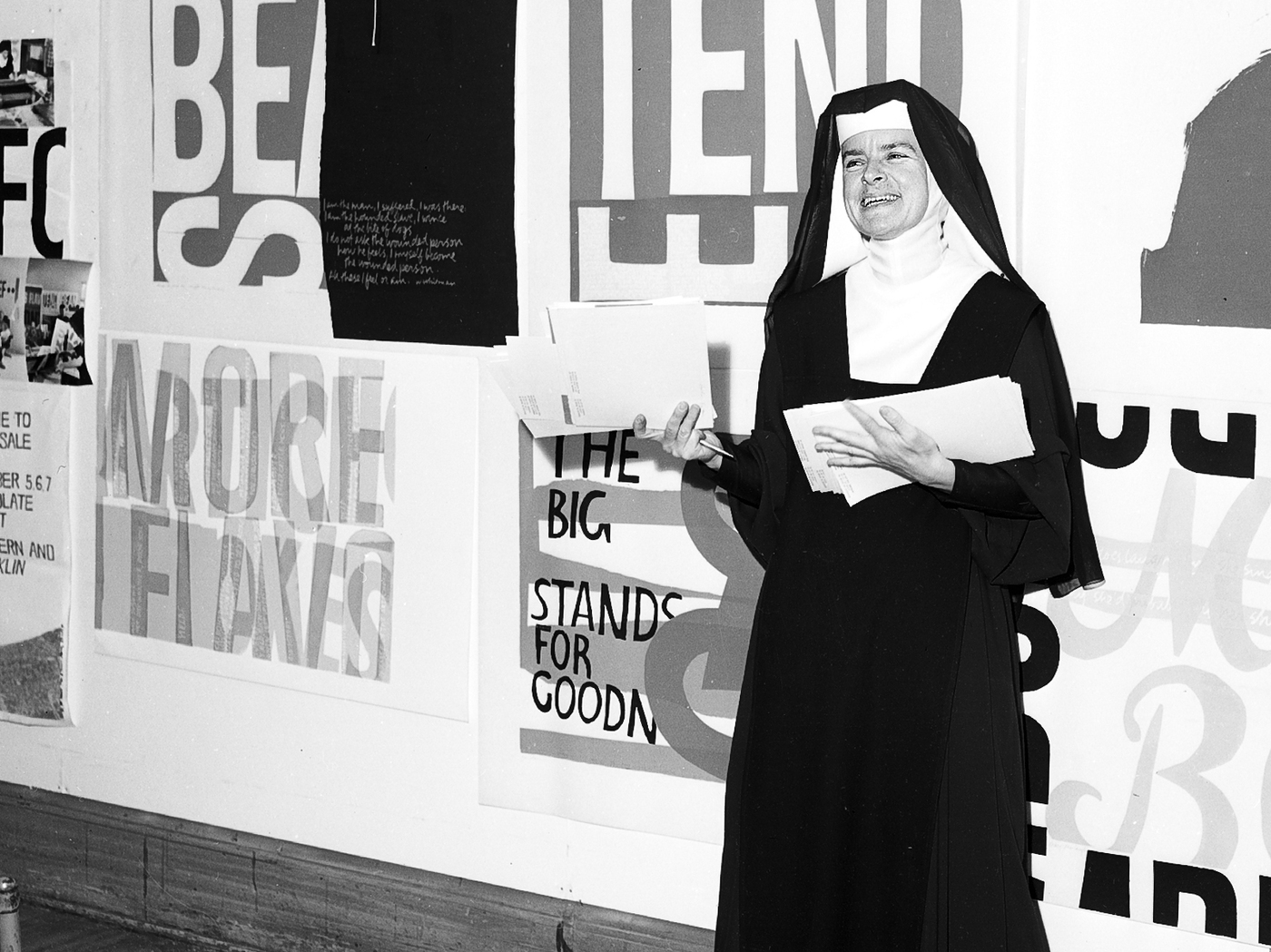 A Nun Inspired By Warhol: The Forgotten Pop Art Of Sister