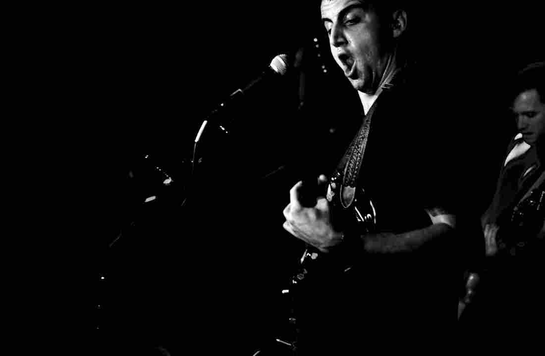 Cymbals Eat Guitars DC9 Washington, D.C. Photo by Bob Boilen for NPR Music