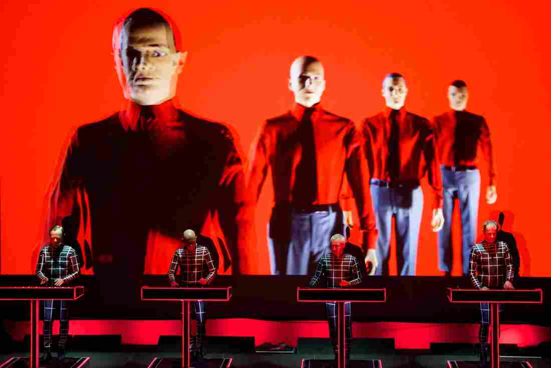 Kraftwerk 9:30 Club Washington, D.C. Photo by Bob Boilen for NPR Music