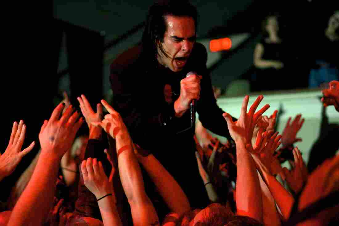 Nick Cave and the Bad Seeds DAR Constitution Hall Washington, D.C. Photo by Bob Boilen for NPR Music
